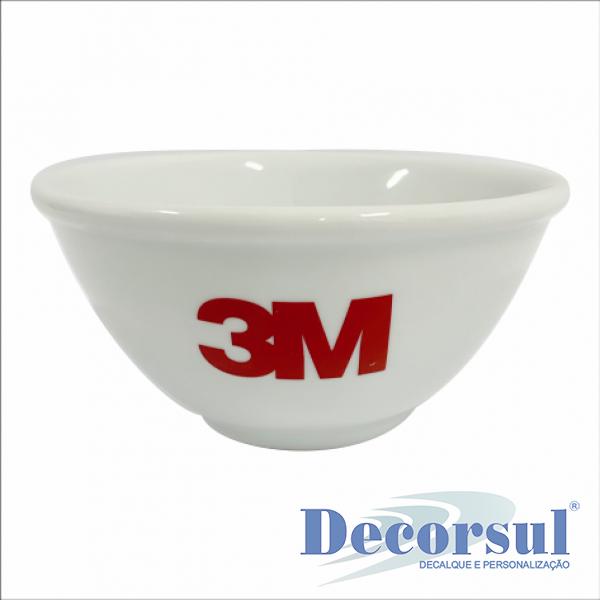 Tigela de porcelana personalizada 550ml Itaquiense