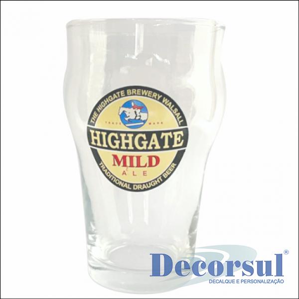 Copo para cerveja personalizado Stout 473ml