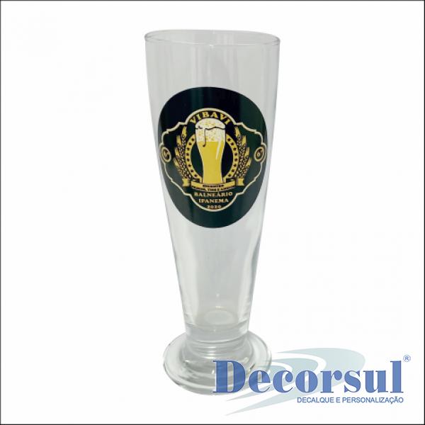 Copo para cerveja personalizado Tulipa 300ml