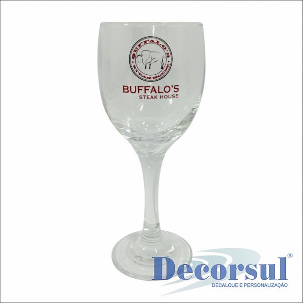 Taça personalizada Imperatriz - vinho tinto 350ml